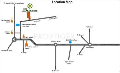 Images for Location Plan of Mehta Shree Jalaram Park