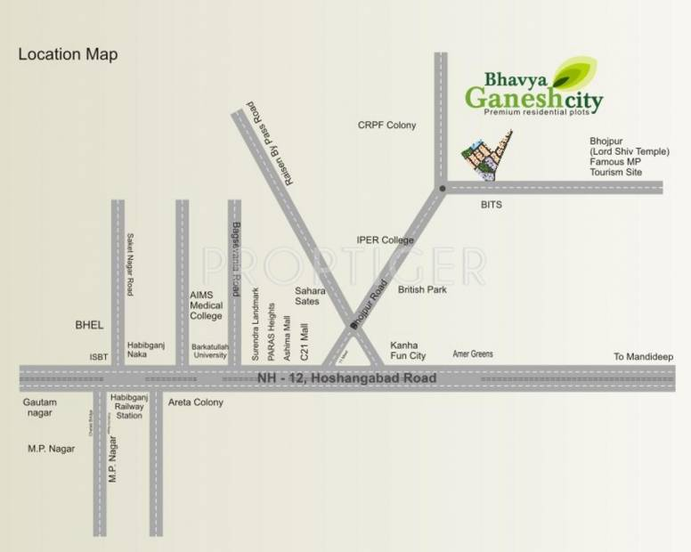 Images for Location Plan of Rai Homes India Bhavya Ganesh City