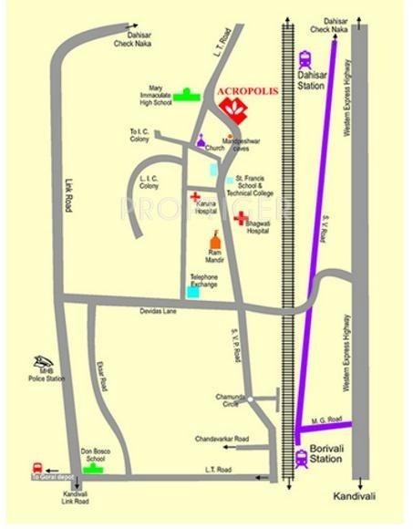 Images for Location Plan of Vora Acropolis