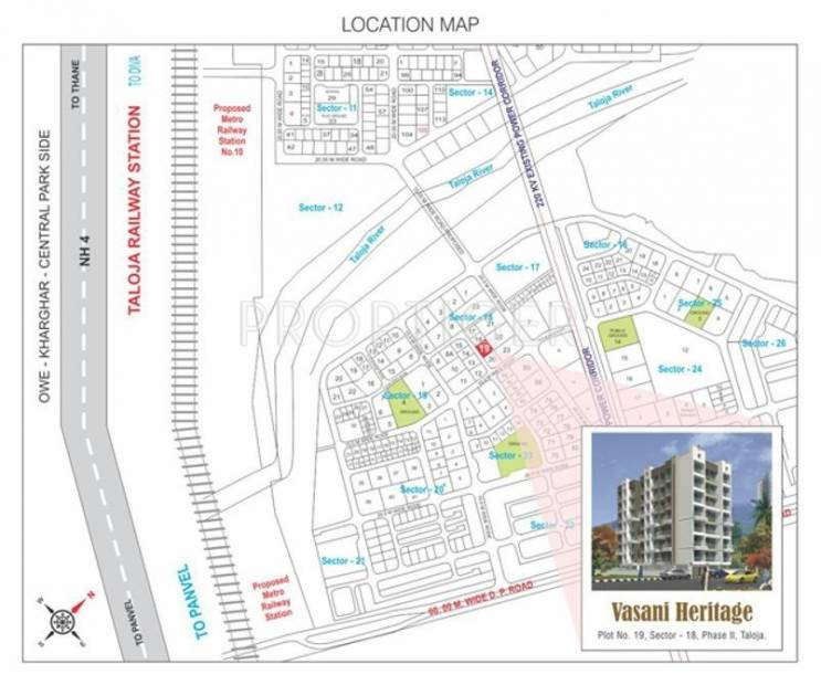 Images for Location Plan of Vasani Heritage