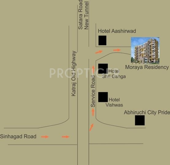 Images for Location Plan of Siddhivinayak Moraya Residency