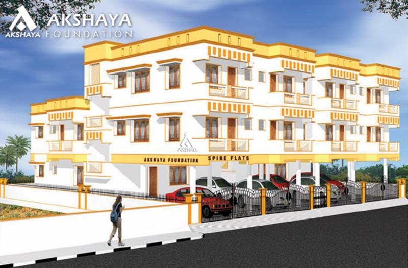 Images for Elevation of Akshaya Spire Flats