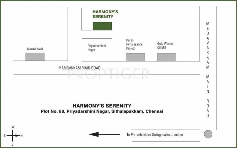 Images for Location Plan of Harmony Serenity