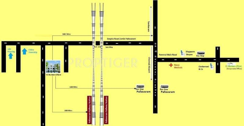 Images for Location Plan of CC Dhoni Arcade