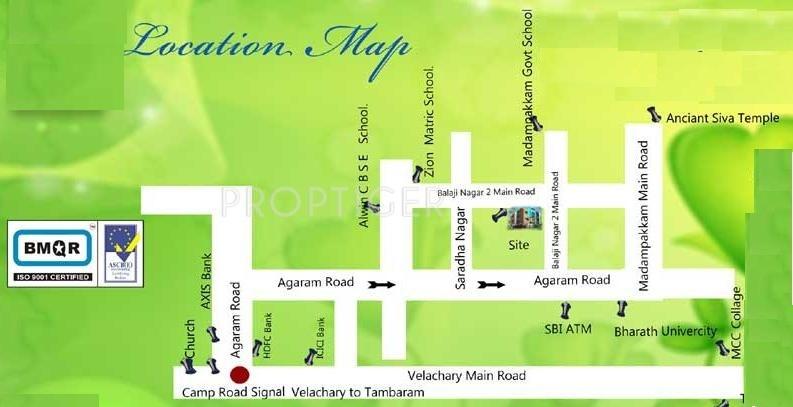 Images for Location Plan of Sri Brindavanam