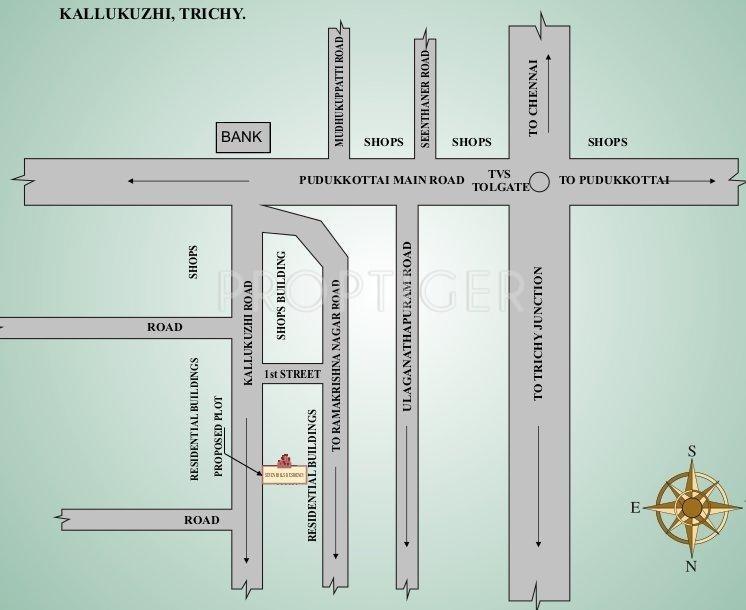 Hygrevar Homes Seven Hills Residency Location Plan