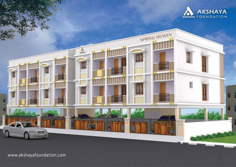Images for Elevation of Akshaya Spring Heaven