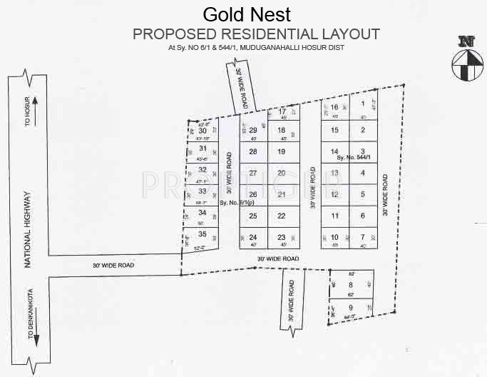 Images for Layout Plan of MSK Gold Nest