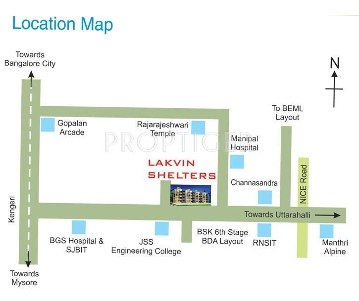 Images for Location Plan of MSK Lakvin Shelters