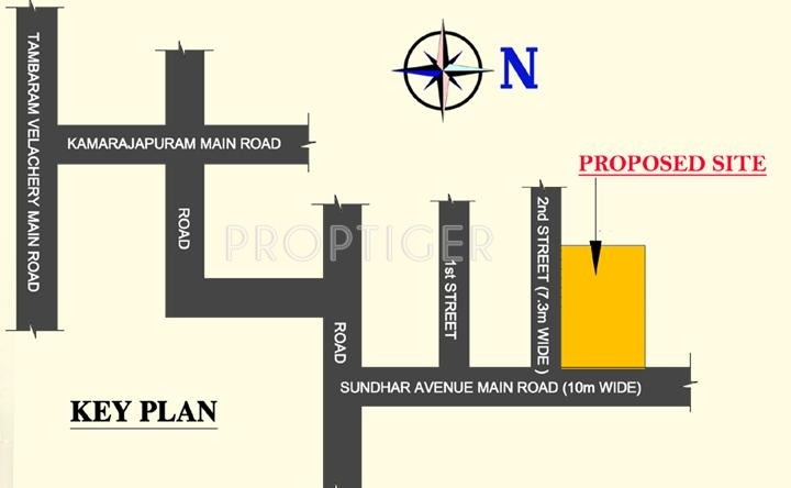 Images for Location Plan of Hitech Properties Ramyam