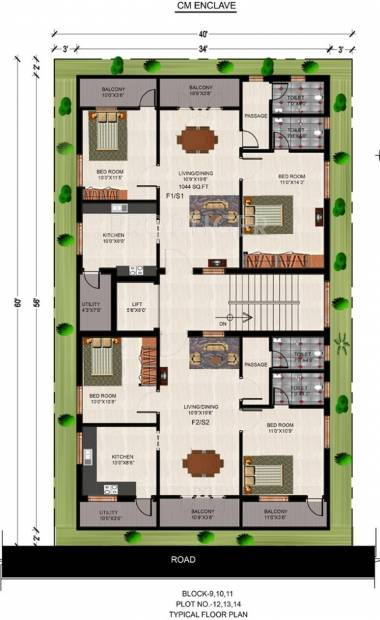 Images for Cluster Plan of  CM Enclave