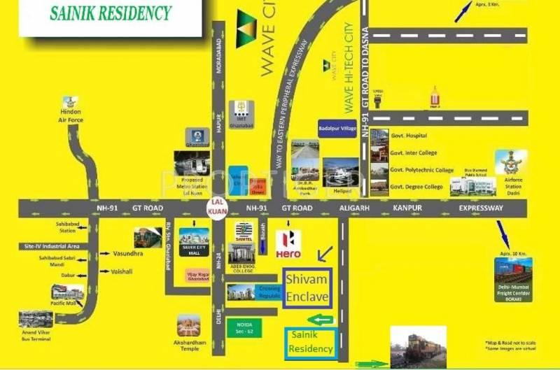 Images for Location Plan of Adhaar Sainik Residency