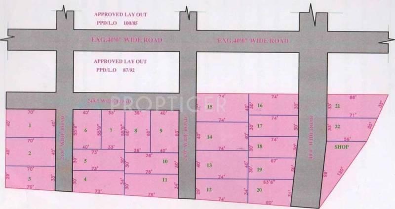 Images for Layout Plan of City Kabi Nagar