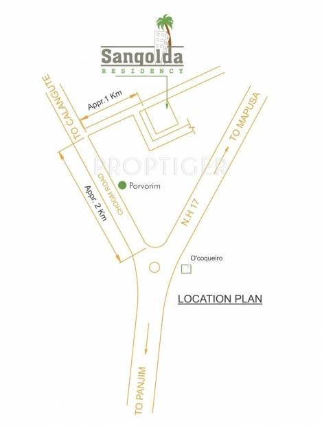 Images for Location Plan of Emerald Sangolda Residency