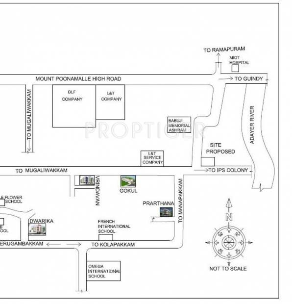 Images for Location Plan of Shriram Gokul Individual House