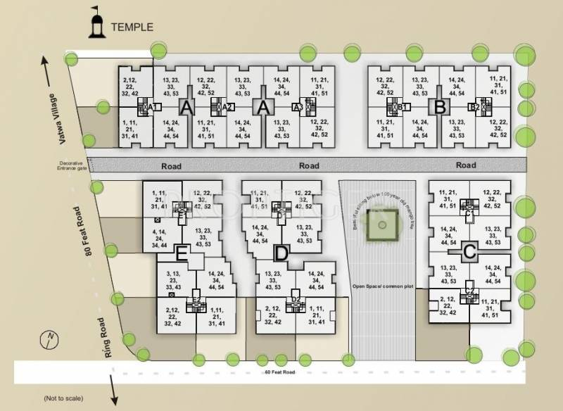 Images for Layout Plan of Santosh Shaan 3