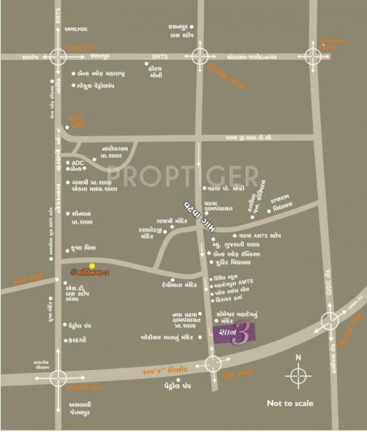 Images for Location Plan of Santosh Shaan 3