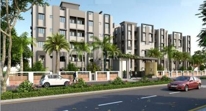 Images for Elevation of Santosh Shaan 3