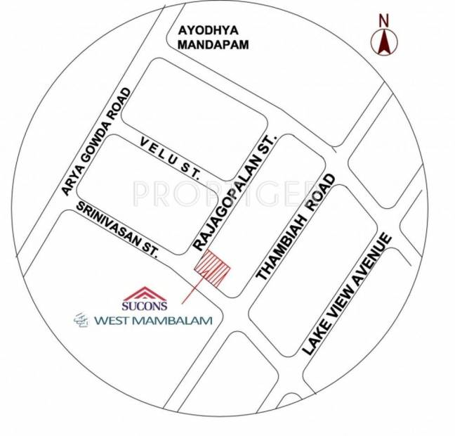 Images for Location Plan of Sushen WEST MAMBALAM