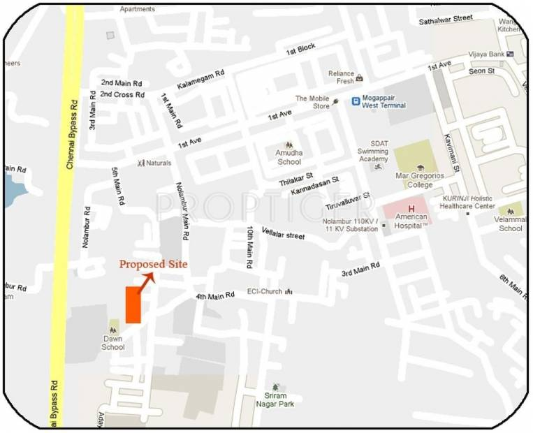 Images for Location Plan of Indira Tranquil