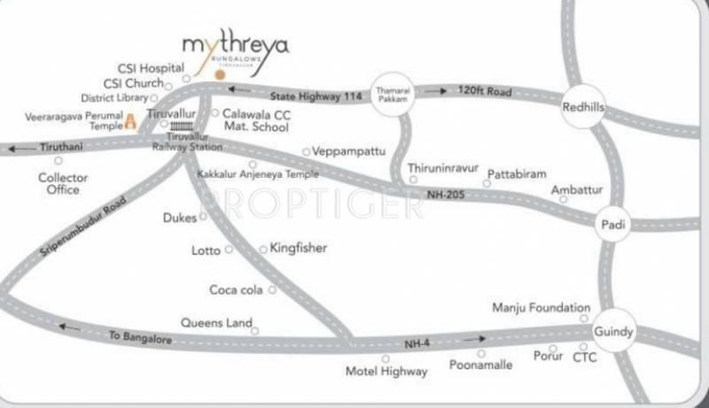 Images for Location Plan of Manju Mythreya
