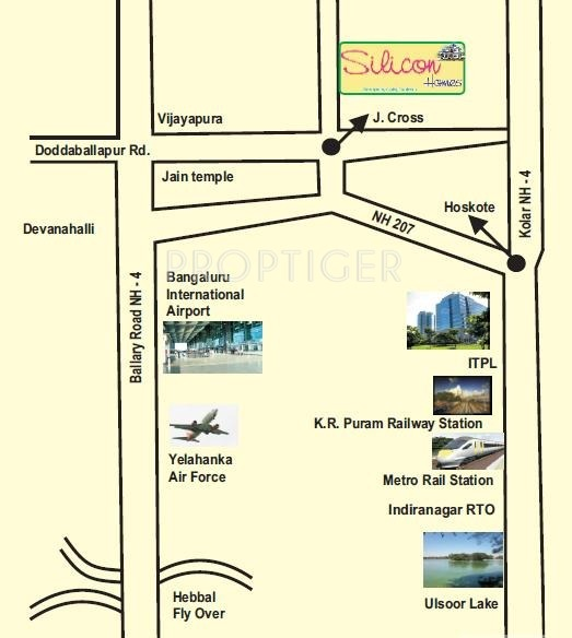 Images for Location Plan of Nava Nakshatra Silicon Homes