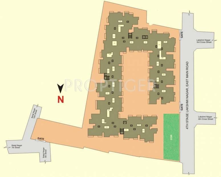 Salma Constructions Amar Enclave Layout Plan