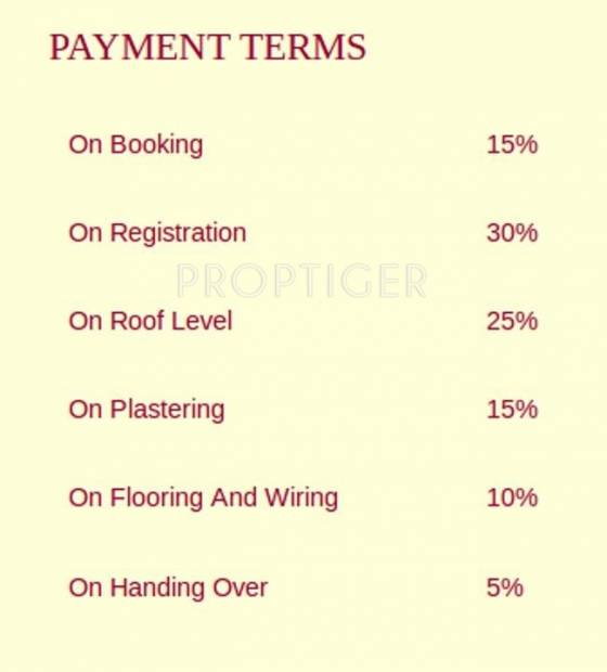 Salma Constructions Classic Towers Payment Plan