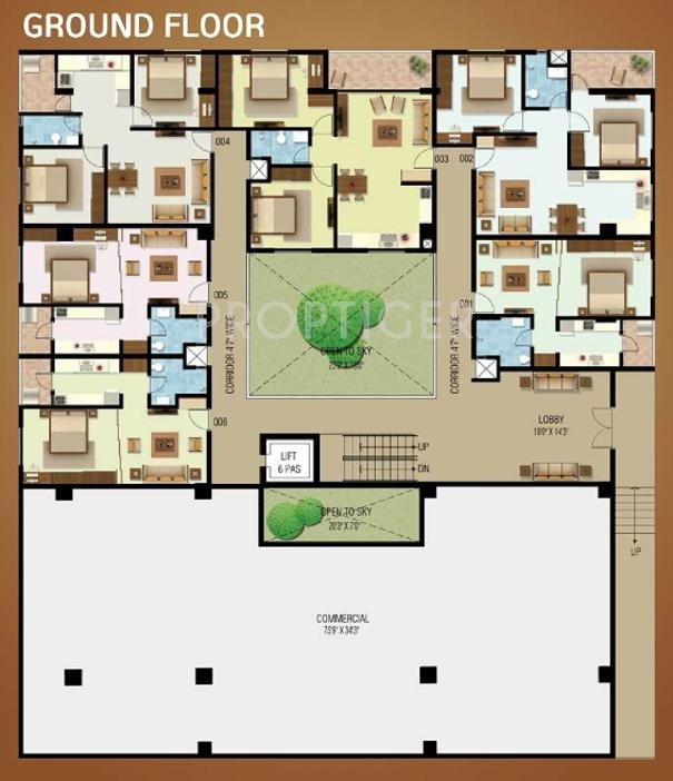 480 Sq Ft 1 Bhk 1t Apartment For Sale In Vishwas Bawa