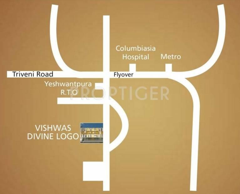 Images for Location Plan of Vishwas Vishwas Divine