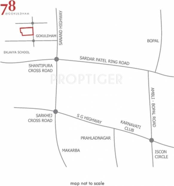 78-at-gokuldham Images for Location Plan of Amaya 78 at Gokuldham