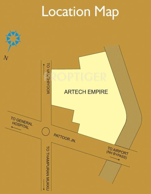 empire Images for Location Plan of Artech Empire