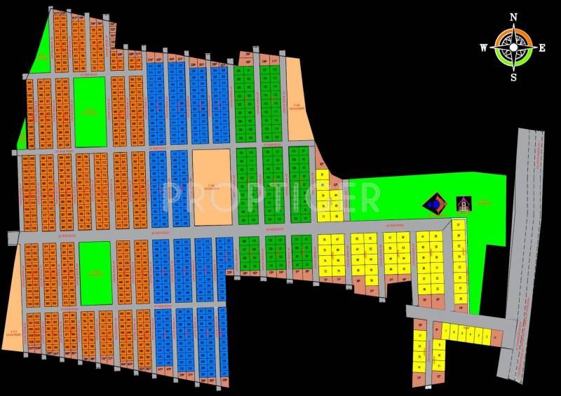 Images for Layout Plan of Transcity Trans Prakruthi