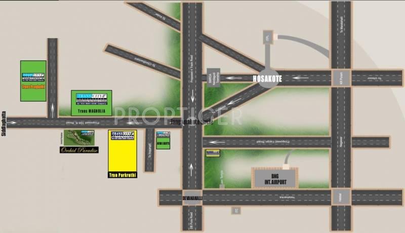 Images for Location Plan of Transcity Trans Prakruthi