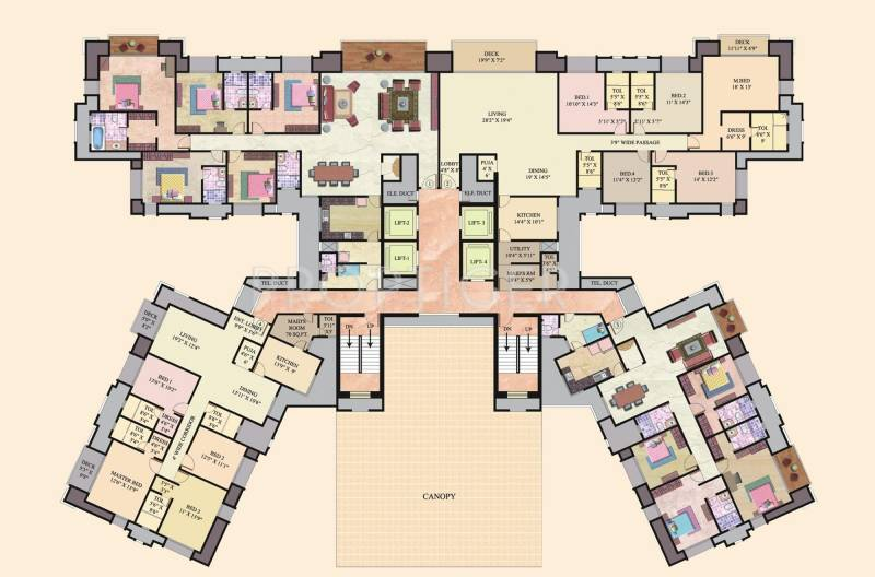 oceanic Images for Cluster Plan of Hiranandani Oceanic
