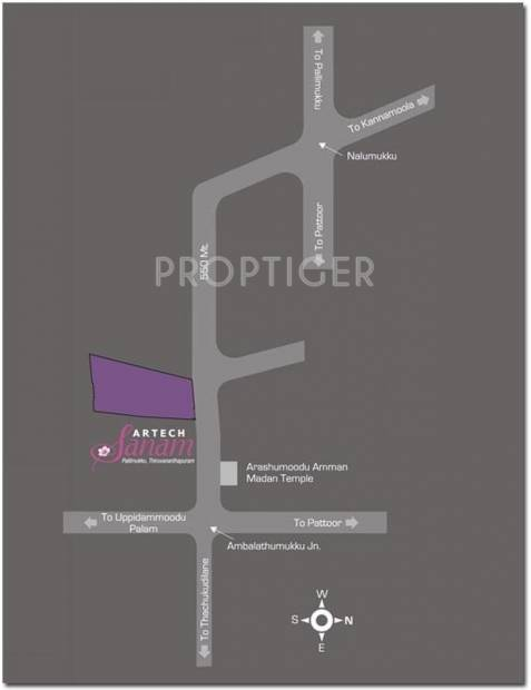 Images for Location Plan of Artech Sanam