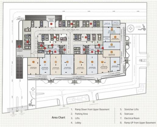 Images for Cluster Plan of Adarsh Sky Terraces