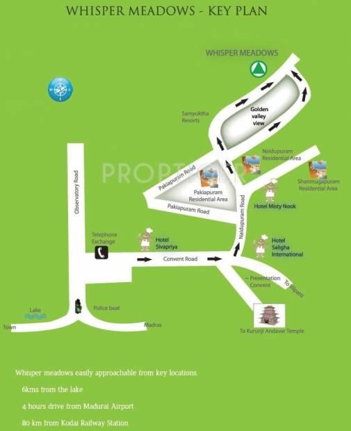 Vishram Infrastructure Whisper Meadows Location Plan