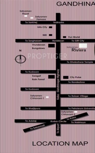 Images for Location Plan of Shree Gayatri Satyamev Riveria
