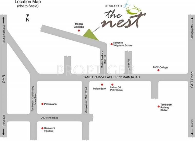 the-nest Images for Location Plan of Sidharth Foundations And Housing The Nest