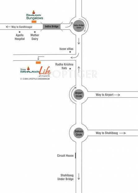 shree-mahalaxmi-life Images for Location Plan of Mahavir Shree Mahalaxmi Life