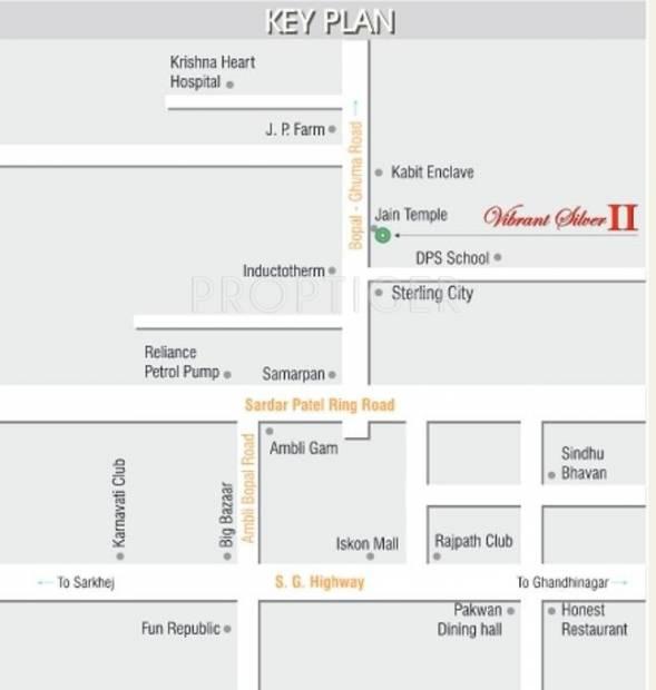 Soniz Group Vibrant Silver Second Location Plan