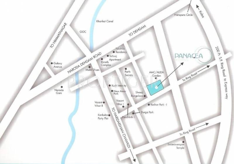 residency Location Plan