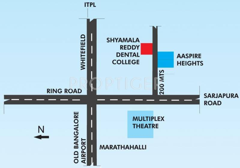 Images for Location Plan of Aaspire Heights