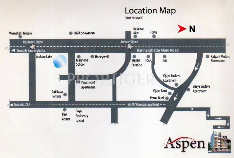 Amit Properties Aspen Location Plan