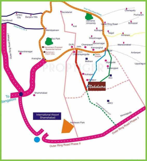 Images for Location Plan of Namishree Nakshatra