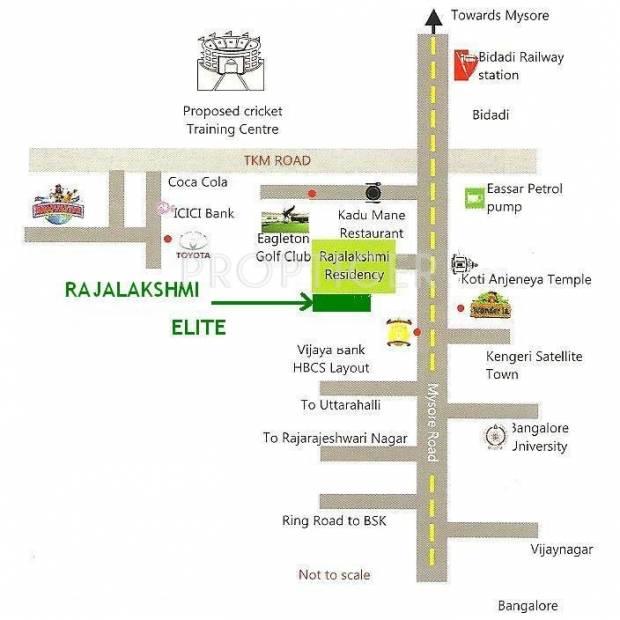 Images for Location Plan of Galaxy Rajalakshmi Shanthivana