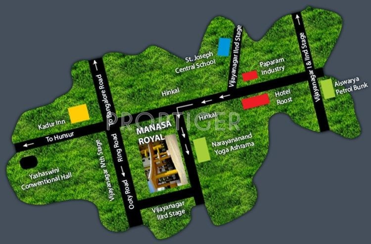 Images for Location Plan of Manasa Royal Phase 1