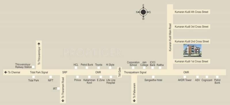 Images for Location Plan of Poomalai Sreeya
