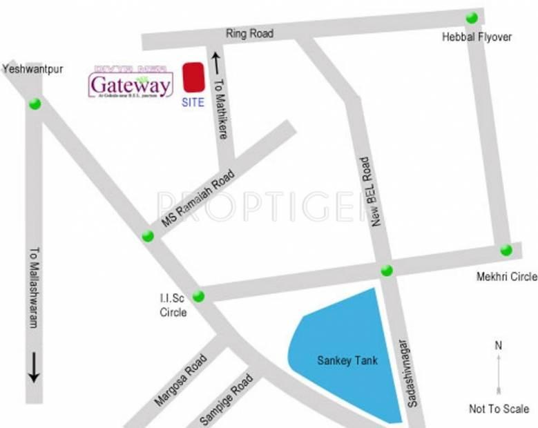 Divya Infra MSR Gateway Location Plan